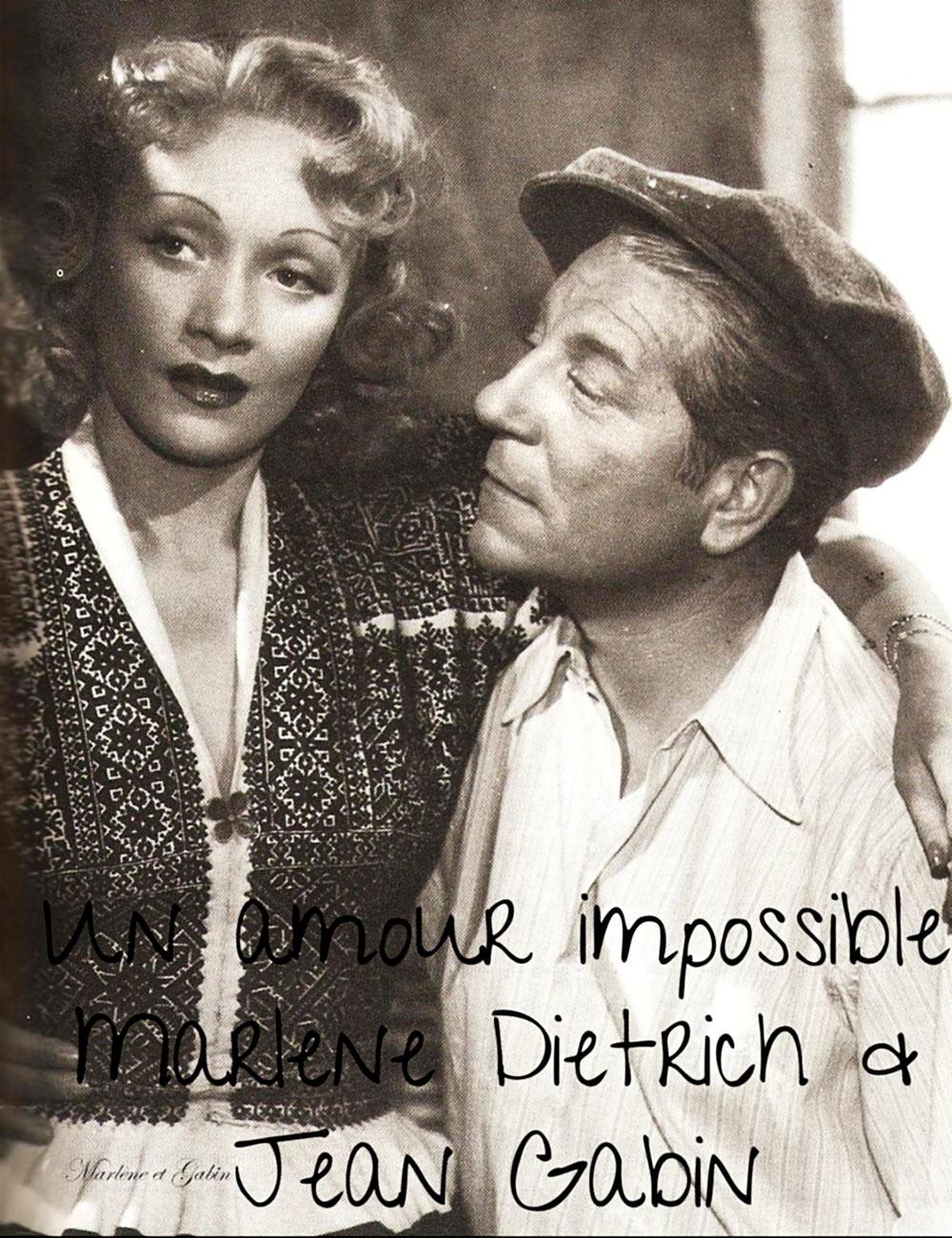 Eine unvollendete Liebe – Marlene Dietrich & Jean Gabin