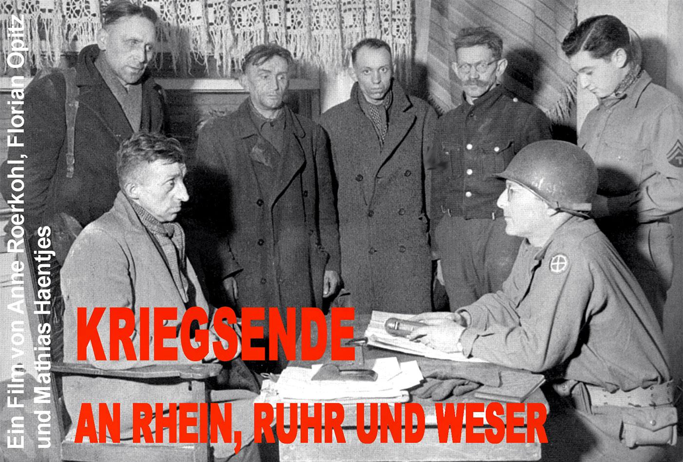 Kriegsende an Rhein, Ruhr und Weser