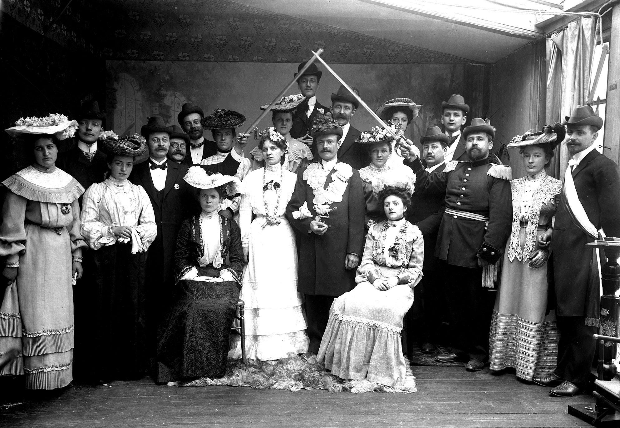 Wir vor 100 Jahren